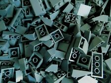 Lego Sloped Bricks Roof Modular Castle lot of 50 random pick dark blue gray