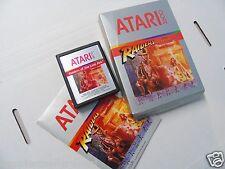 Atari 2600 Game Raiders of the Lost Ark Complete ATARI 2600 Video Game System