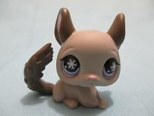 Littlest Pet Shop #687 Gray Chinchilla With Purple Snowflake Eyes 100% Authentic