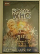NEW '12 REGION 1 DVD DOCTOR WHO JON PERTWEE DEATH TO THE DALEKS STORY # 72 1DISC
