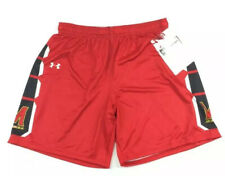 Under Armour Women's Maryland Terps Showtime Basketball Shorts Sz. Large NEW.