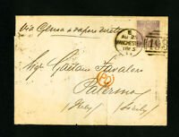 Great Britain Stamp #45 on 1865 Cover