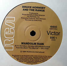 BRUCE HORNSBY AND THE RANGE  45RPM MANDOLIN RAIN  FREE POSTAGE IN AUSTRALIA
