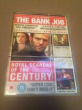 The Bank Job (DVD, 2008) jason statham, region 2 uk dvd
