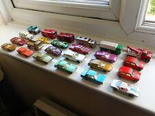Matchbox 1-75 Series early Superfast job lot x24 1968-71 vintage toy cars trucks