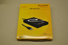 Neu Delock USB Diskettenlaufwerk Floppy Drive  Windows 2000/XP/Vista/7/8/10.,