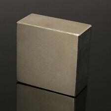 Super Strong Neodymium Large Block Magnet 50x50x25mm N50 Powerful Fridge Magnets