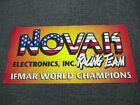 Original NOVAK Electronics R/C car IFMAR World Champions banner racing team
