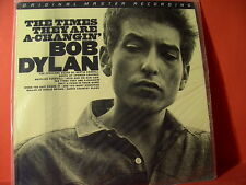 "MFSL 1-114 BOB DYLAN ""THE TIMES THEY ARE A-CHANGIN""(JAPANPRESSING-SERIES/SEALED)"