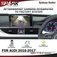 """CP REVERSE CAMERA INTEGRATED INTEGRATION SYSTEM FOR AUDI MIB II 2 7/8.4"""" 2016-17"""