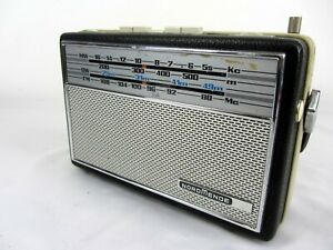 NORDMENDE Transista Deluxe MW SW FM Vintage Germany Transistor Radio Working