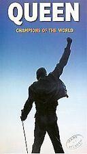 Champions of the World [VHS], Good VHS, Brian May, John Deacon,