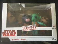 Disney Star Wars Scenez Mos Eisley Cantina age 5+ 4 figures new