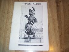 Reuben Kadish Survey - Artists Choice Museum   PB ILLUS 1986