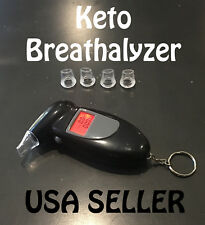 Keto Breathalyzer Alcohol Acetone reader Mouthpieces Included Ketosis reader