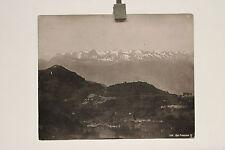 altes Foto Rigi - Panorama  Schweiz um 1900