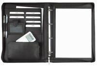 Ringbuchmappe A4 Leder mit Reißverschluss, excl. Marke EuroStyle