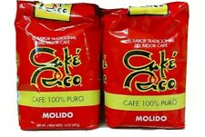 (2 BAGS/14 Ounces) CAFE RICO COFFEE OF PUERTO RICO RICH COFFEE 100% PURE