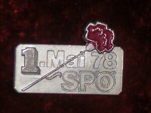1.Mai-Abzeichen SPÖ 1978-Sammlungsauflösung--Vitrinenstück