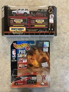 Hot Wheels Matchbox Michael Jordan/Chicago Bulls set Lot