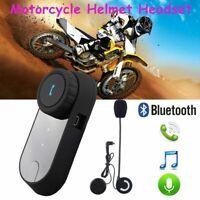 Freedconn TCOM02 Motorcycle Bluetooth Headset Motorbike Helmet FM Earpiece Music