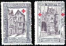 1914 - 1916 Delandre Red Cross - Comite De Rouen group 260.4 Unlisted p11