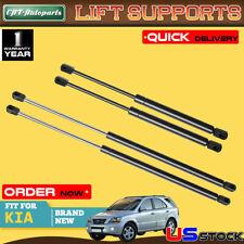 4x Rear Window+Tailgate Lift Supports Gas Struts Shock for Kia Sorento 03-09