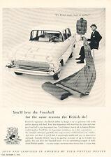 1959 Vauxhall Pontiac Dealer - Vintage Advertisement Car Print Ad J472