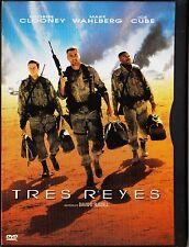 TRES REYES de David O. Russell con George Clooney. Tarifa plana envío DVD, 5 €