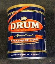 Drum Metal Cigarette 5-ounce Tobacco Can - Empty