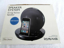 iCRAIG CMB318...SPEAKER SYSTEM...for IPOD & IPHONES...NEW in BOX...SEALED