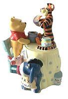 """Disney's, Winnie The Pooh, """"Making Cookies, Cookie Jar, Eeyore, Piglet, Tigger"""