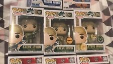 Steve Irwin CHASE & Popcultcha Exclusive & Common Funko Pop Vinyl New in Box