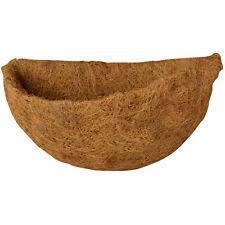 Esschert Design Kokoseinlage Wandtopf halbrund Ø 33 cm Ersatzeinlage Kokos