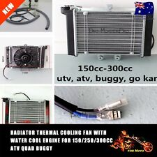 Radiator Engine Cooler Fan for 150CC 200CC 250CC ATV QUAD BIKE GO KART BUGGY
