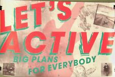Let's Active - Mitch Easter BIG PLANS FOR EVERYBODY Vintage Promo Poster [1986]