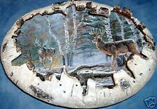 ~Bradford~Woodland Royalty Deer~Crown Princes Plate~
