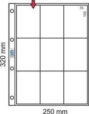 BBB* 100 Hojas  Calendarios verticales ó similares. 9 Divisiones.