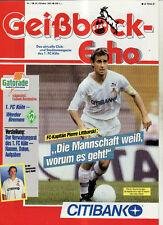 BL 91/92 1. FC Köln - SV Werder Bremen
