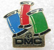 Pin's 3 bobines de fils à coudre DMC #E5