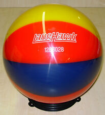 NLM Lanehawk ? BEACHBALL ? Clear Bowling Ball 12 Pounds * New * Undrilled