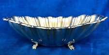 REED & BARTON STERLING FLUTED FOOTED OVAL BOWL  X812