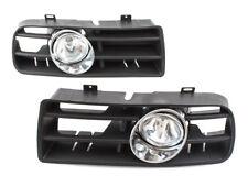 LOWER BUMPER FOG LIGHT LAMP GRILLE GRILL RIGHT+LEFT SET FOR VW GOLF MK4 IV 97-04