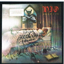 RONNIE JAMES DIO Dream Evil SIGNED Promo LP Album JSA LOA