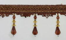 Accessoires marrons pour rideau et store