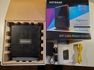 Netgear C7000v2 Nighthawk AC1900 WiFi DOCSIS 3.0 Cable Modem Router