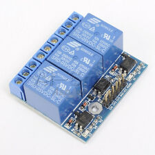 DC 3.3V 5V 3-Channel Relay Module With Optocoupler Isolation Compatible Signal