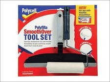 Polycell - SmoothOver Tool Set Roller & Spreader