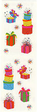Mrs. Grossman's Stickers - Reflections Magical Presents - Birthday Box -3 Strips
