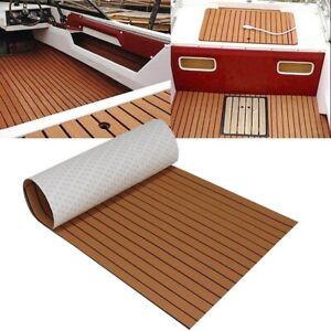 Boat Decking Teak Sheet Decking EVA Foam Marine Flooring Self Adhesive Marine Wo